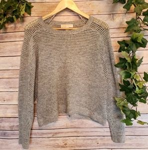 🌿MICHEAL Micheal Kores Soft Grey Sweater Size M🌿